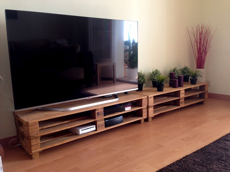 Decoración y muebles con palets
