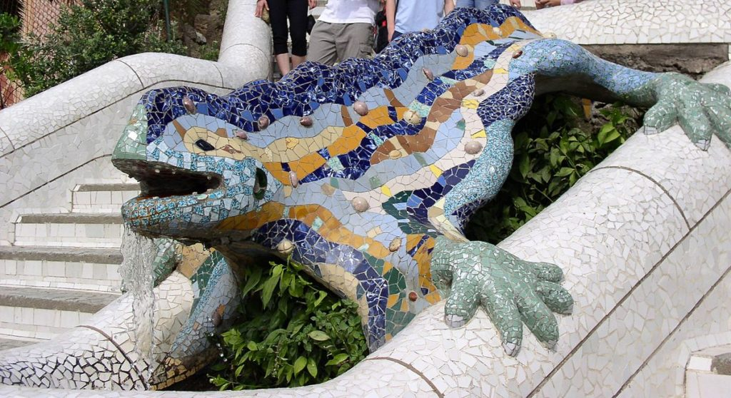 trencadís azulejos reutilizados